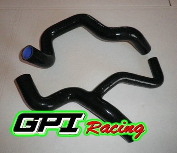 for FORD FOCUS ST 2.0L 02-04 2PCS black performance Silicone Hose kit PIPE,auto parts