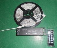 5m 5050 30leds/m RGB IP65 strip+CT305R DMX decoder