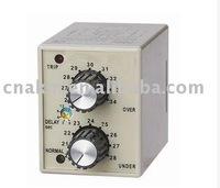 DC 12V 24V 36V 48V  DVM-A series Electronic Voltage Relay With Delay Time