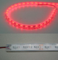 3mm round hat led flexible strip;double-side emitting,45degree viewing angle,IP65;DC12V input