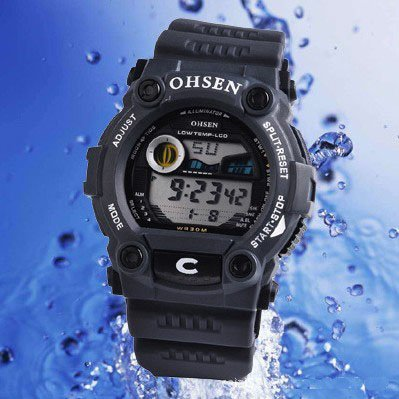 Austria's rich and colorful movement table 30 meters waterproof electronic watches, sports watches, wholesale and retail(China (Mainland))