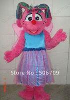 Sesame Street Abby Caddaby Mascot Costume Animal mascot costume