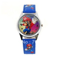 Fashionable Super Mario Wrist Watch (Blue)
