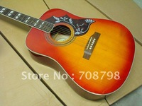 J-45 Acoustic guitar Cherry  free shipping