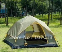 Taped Prevent rain Camping Tent, 213X213X120CM, 3-4 person family tent,outdoor tent ,best quality