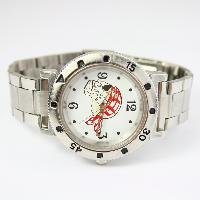 Free shipping Unisex Cool Skeleton Stainless steel Bracelet Watch