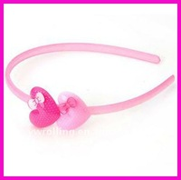 acrylic girls hair band/kids hair accessory