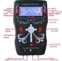 Promotional Full Digital Control Tattoo Power Pupply ED-280 tattoo & body art