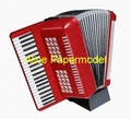 [Alice papermodel]accordion musical Instruments machine puzzle models diecast toys