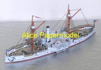 alice papermodel 1:250 4 tipos de revestimiento línea de flotación