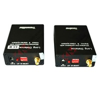 Hot Extreme distance 500M 0.5W 2.4G Wireless Audio Video Transmitter and Receiver
