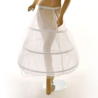Freeshipping Best Selling wedding dress Three rims Petticoat