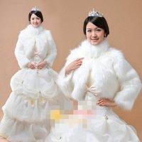 Freeshipping New Arrival Bridal Fur Shawls,bridal Fashion Shawls