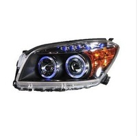 freeshipping! Wholesale 2011 The HID xenon lamp/haidi double light lens/angel eyes RV4/light/led drl/hid/xenon/h4