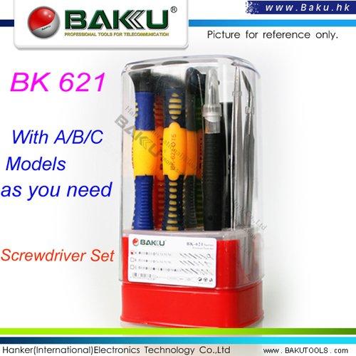 precise Screwdriver Set BK-621(new set in BAKU )and BK-621B can opening iphone 4(China (Mainland))