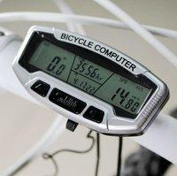 20pcs/lot LCD Bicycle Bike Computer Odometer Speedometer SD558A -Cycle Computer - Bicycle Computer