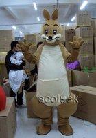 No Ship~New Kangaroo Mascot Costume Fancy Dress Outfit EPE
