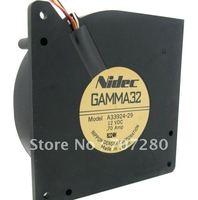 Original NIDEC 12032 GAMMA32 A33924-29 12V 0.7A Blower cpu cooler heatsink Cooling Fan