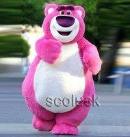 Toy Story 3 Character Lots-O'-Huggin'Bear Lotso Mascot Costume Christmas Party