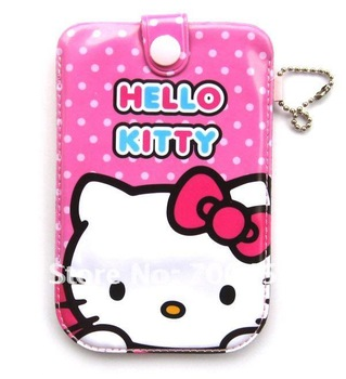 Free shipping 50pcs hello kitty purse cell phone pouches  covers case G4