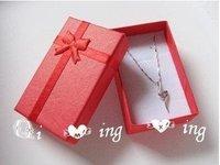Free shipping 48pcs/lo  t5x8x2.5cm Jewelry Packaging Ring & Earring Gift Box  Cardboard Jewelry Box