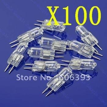 C18 100X Halogen Light Bulb 20W 20 Watt 12V G4 Base JC Type