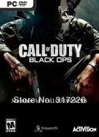 Freeshipping Wholesale pc game Call of Duty: Black Ops Multi-language new pc games 2011, not online
