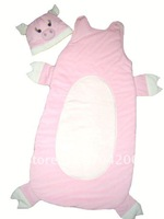 Pig pink Baby sleeping bag/Baby sleepsack/Infant Costume