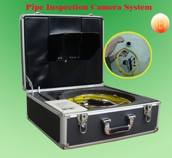 GSY9000DVRrofessional industrial video pipe inspection camera, cctv drain/sewer inspection system 30m fiberglass cable with DVR(China (Mainland))
