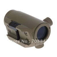 Durable Plastic and Metal Sighting Telescope Tactical Sight Collimator for Guns (Sand Color)