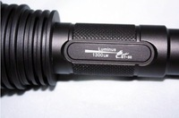 Free Shipping TrustFire ST-50 SST-50 5-Mode 1300-Lumen Memory LED Flashlight (2*18650)