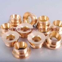 Free shipping hot selling 50pcs/lot faucet rosette and nipple nuts for in wall faucet parts replacement
