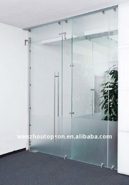 High grade 304SUS Glass pivot door(China (Mainland))