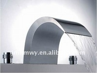 mordern design high quality  chrome 3 pcs bathtub faucet