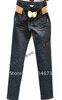 #70 Korean slim straight jeans jeans