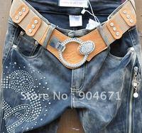 #79 Fashion show thin sand cowboy Haren pants pants pants pants