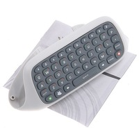 Wireless Keyboard Chatpad For Microsoft Xbox 360 wireless online typing qwert keyboard For XBOX 360 Games,free shipping