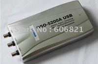 free shipping DSO-5200A USB /200MHz bandwidth, 50G sampling