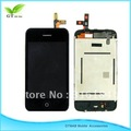 1pcs LCD display with touch screen Assembly all full Complete For iphone 3GS free shipping