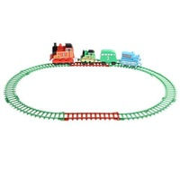 Running Thomas Train Engine w/ Light & Sound DIY Toy 506