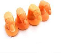 Fake Finger /False Finger/ Artificial Finger Acrylic UV Gel Nail Art Tips Decoration Practice Training Finger Display Tool