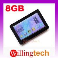 Hot 4.3 inch Touch Screen 8GB mp3 mp4 MP5 FM radio music RMVB FLV Video Player 8G