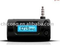 car audio FM transmitter for ipod, iphone, MP3 player