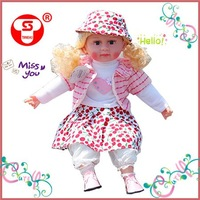 Real doll toy with beautiful music,body feel very comfortable.100% welcome by Children