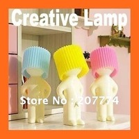 Freeshipping Boy naughty Mr.P a little shy creative lamp small night lamp lights
