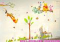 4 ps Cute Winnie the Pooh Wall Stickers Nursery Childrens room 3