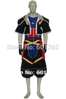 Anime Kingdom Hearts cosplay-Kingdom Hearts 2 Sora Cosplay Costumes for Halloween/Cosplay party(Freeshipping))