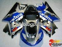 Free shipping Suzuki Gsxr 1000 00-02 K2 K1 01 Fairing Bodywork ABS S6 fairings kits gsxr1000 2000 2001 2002 gsx r1000