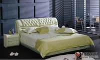 queen size leather bed py-612