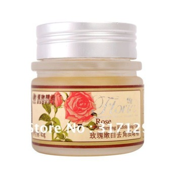 Rose Whitening Exfoliating Gel, Removing Dead Skin Cells, Lightening Skin, Face Exfoliator, Free Shipping
